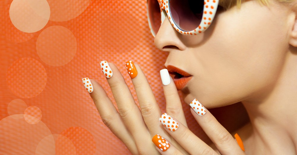 Polka Dot to decorate or design your nails