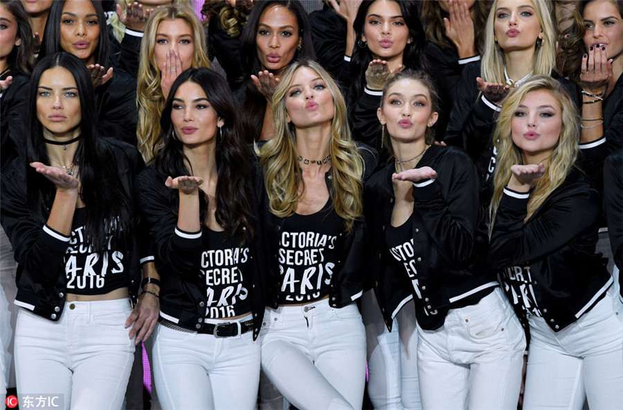 Highest paid super models of Victoria's Secret