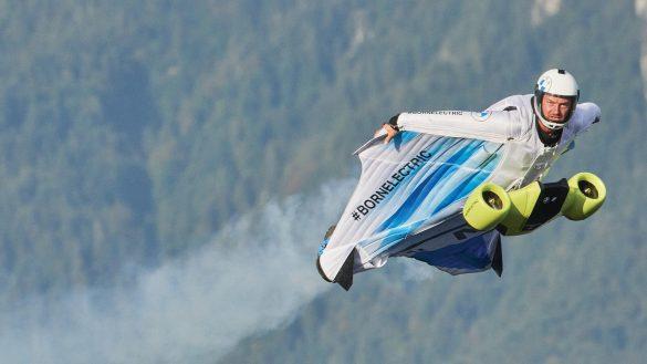 Austrian skydiver Peter Salzmann
