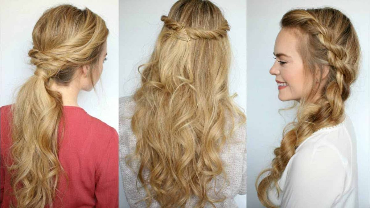 Try out these trendy hairstyle for a lift to your regular Eid look
