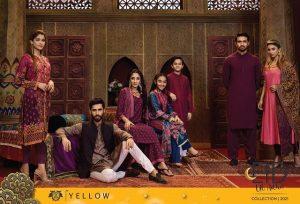 yellow Eid-ul-Adha 2021 collection