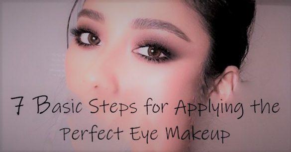 applying eye makeup fi