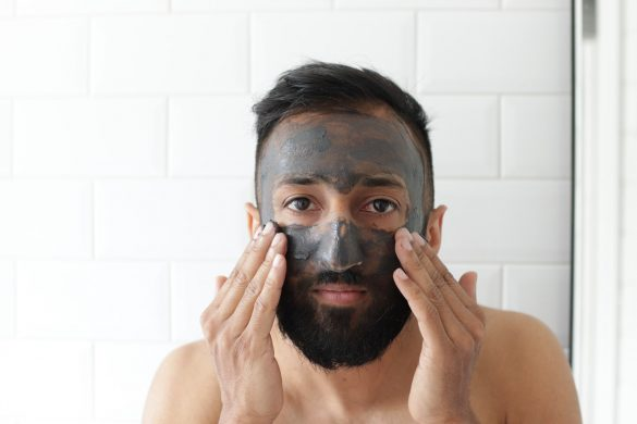 men's Skincare routine fi